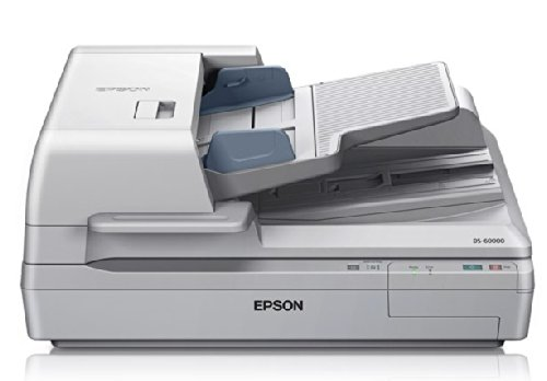 Epson DS-60000 Large-Format Document Scanner:  40ppm, TWAIN & ISIS Drivers, 3-Year Warranty with Next Business Day Replacement by Epson