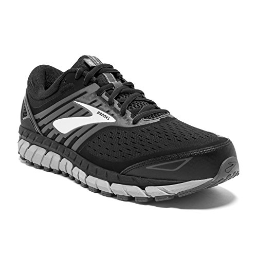 Brooks Mens Beast '18 - Black/Grey/Silver - 12.0-2E Wide