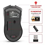 Redragon M652 Optical 2.4G Wireless Mouse with