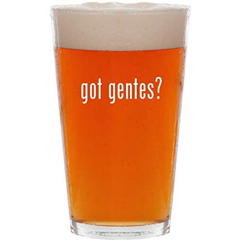 got gentes? - 16oz Pint Beer -