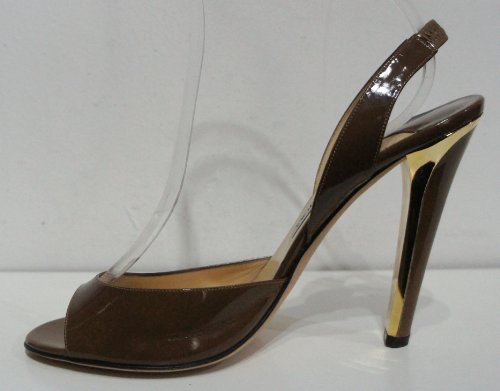 Marron Escarpins Latte Light femme Patent Kan Choo Brown Kandy UK Jimmy pour 5 41 8 wBxYntR