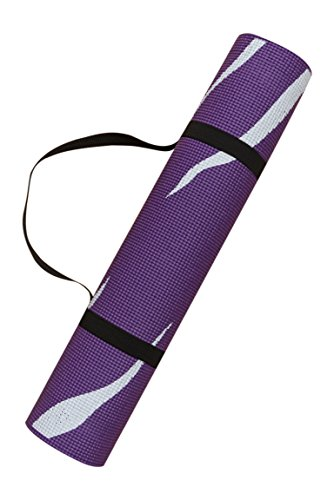 Tiger Stripes Purple Design - Harbormill Tiger Stripes Yoga Mat, Purple