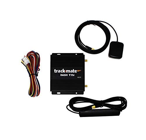 Dash T11v 4G/LTE GPS Tracker. Ideal for Critical Tracking on Combined Verizon/AT&T and T-Mobile Networks. Real-time, Hard-Wired. Cars, Trucks, Boats, Fleets. No Contract - 24/7 Online Activation.