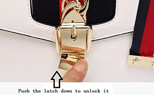 Black à w en Femmes 16cm l bandoulière Sac mode h à à véritable 9 la à 25 cuir bandoulière FZHLY main en Sac cuir wTHxZZ
