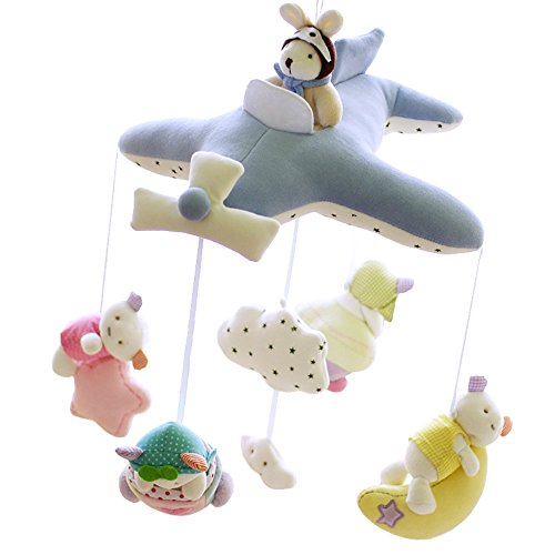 shiloh-deluxe-baby-plush-crib-mobile-with-60-songs-musical-box-and-arm-blue-plane