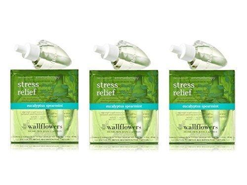 Lots of 3 Bath & Body Works Aromatherapy Wallflowers 2-Pa...