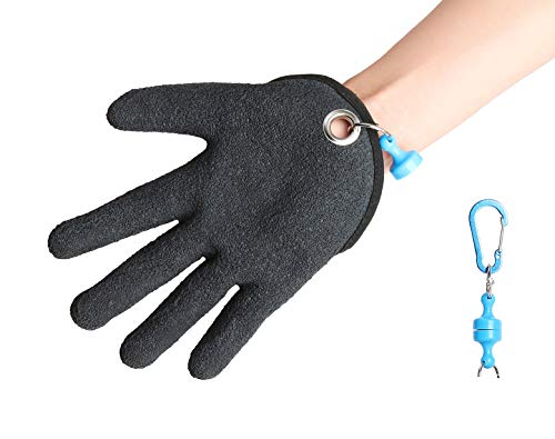 Trendcode Fishing Glove, Handy Catching Fish Glove for Fisherman Protect Hand from Cuts, Puncture and Scrapes - 1pc