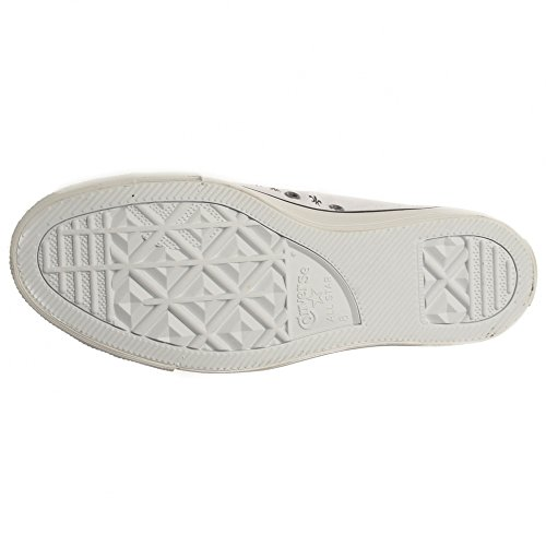 Stringate bianco Sneakers Star Converse Nero Prem Hi Warhol Uomo FxzZX7pqw
