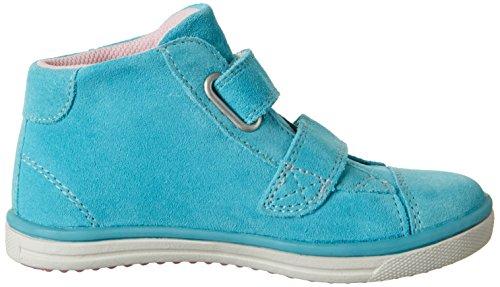 Lurchi Swani-Tex, Zapatillas Altas para Niñas Azul (Aqua)