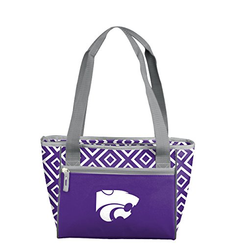NCAA Kansas State Wildcats DD 16 Can Cooler Tote, Adult, (Kansas State Wildcats Cooler)