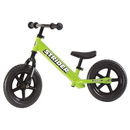 Box St4 (Strider - 12 Classic No-Pedal Balance Bike, Ages 18 Months to 3 Years, Green)