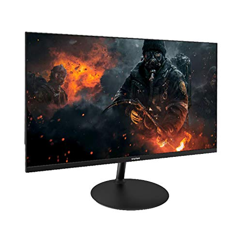 Viotek 109013NH GFV24C 24-Inch Ultra-Thin 144Hz Gaming Monitor | 1080P 4ms (OD) | G-Sync-Compatible FreeSync FPS/RTS | HDMI DP 3.5mm | Zero-Tolerance Dead Pixel Policy (VESA), Black