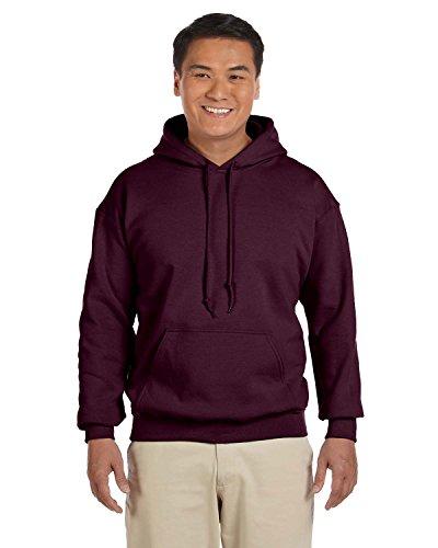 Gildan Adult Heavy Blend� Hooded Sweatshirt (Maroon) (Medium)