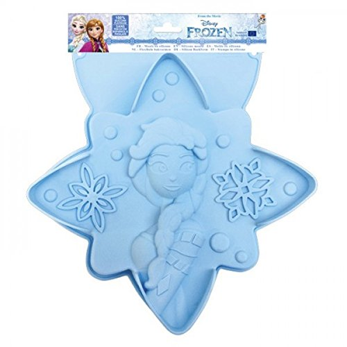 ScrapCooking Disney Frozen Silicone Mould, Blue ()