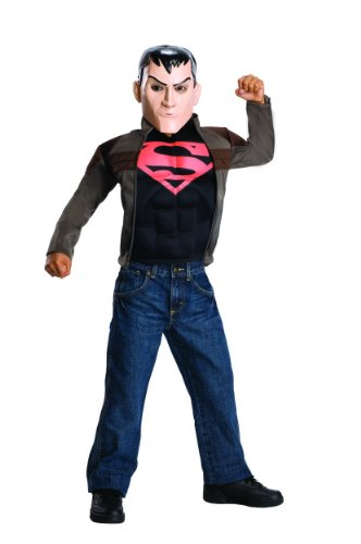 Kids Superboy Costumes (Rubie's Costume Young Justice Superboy Child Costume, Large)