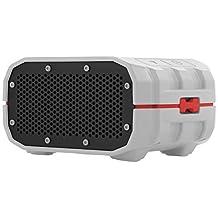 Braven BRV-1 Bluetooth Wireless Speaker-Grey/Red