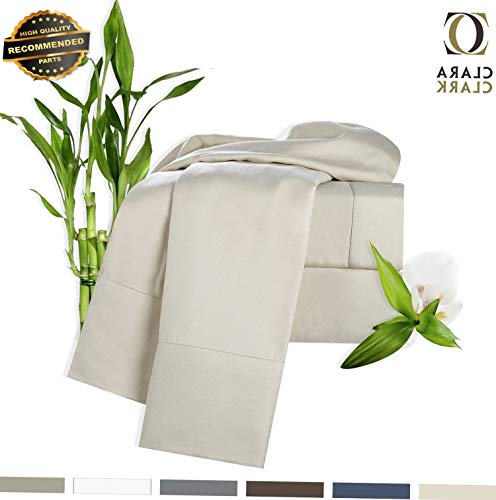 Gatton Premium New 100% Bamboo 4 Piece Deep Pocket Bed Sheet Set | Collection SHSCZ-18212789 ()