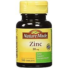 Nature Made Zinc Tabs - 30 mg - 100 ct