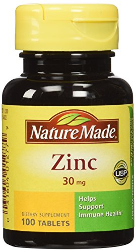 (Nature Made Zinc Tabs - 30 mg - 100 ct)