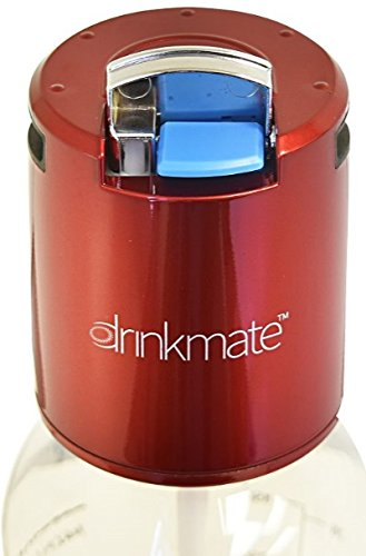 DrinkMate Spare Fizz Infuser in Candy Apple Red