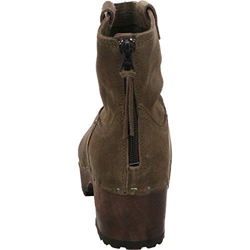 Softclox S3354-13, Bottes pour Femme Vert
