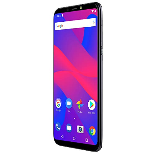 "7 - BLU Studio Mega 2018-6.0"" HD Unlocked Smartphone with Dual Main Camera -Black"