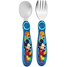 The First Years Disney Baby Mickey Mouse Easy Grasp Flatware