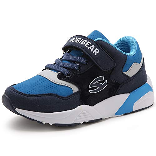 FEIKENIU Kids Tennis Shoes Boys Running Shoes Lightweight Girls Sneaker Breathable Athletic Shoes