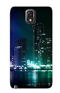 Galaxy Note 3 Cover Case Design - Eco-friendly Packaging(city Lights )