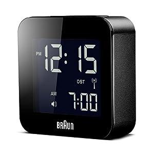 BRAUN BNC008BK-RC - Reloj Despertador Digital Negro 3