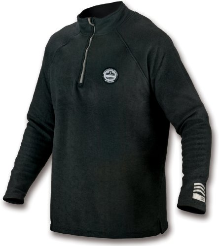 mance Work Wear 6445 Fleece, Gray, 3X-Large (Ergodyne Core)