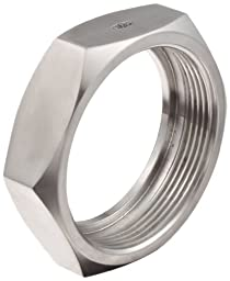 Dixon 13H-G400 Stainless Steel 304 Sanitary Fitting, Bevel Seat Hex Union Nut, 4\