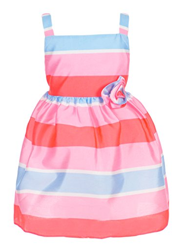 Pretty as a Picture Little Girls' Toddler Dress - Pink/Coral, 2t