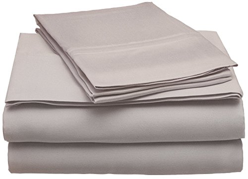Blue Nile Mills Ultra Soft Modal from Beech Sheet Set, Unmatched Quality, Queen, Grey from Blue Nile Mills