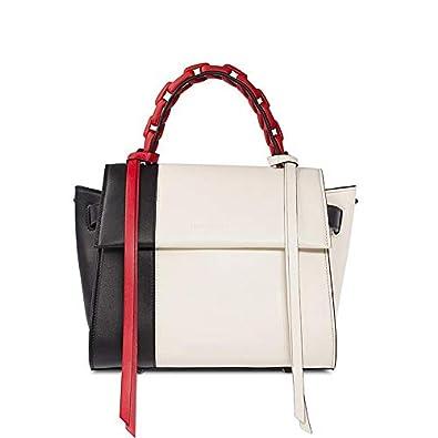 | ELENA GHISELLINI Angel S Bag IvoryBlack | Shoes