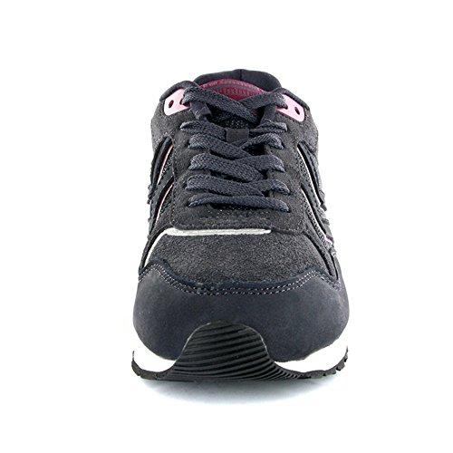 Hummel Unisex-Erwachsene Marathona Low Niedrige Sneaker Schwarz / Violett