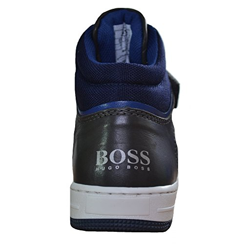 Hugo Boss Kids Hugo Boss Navy Blue High Tops 34(Euro)