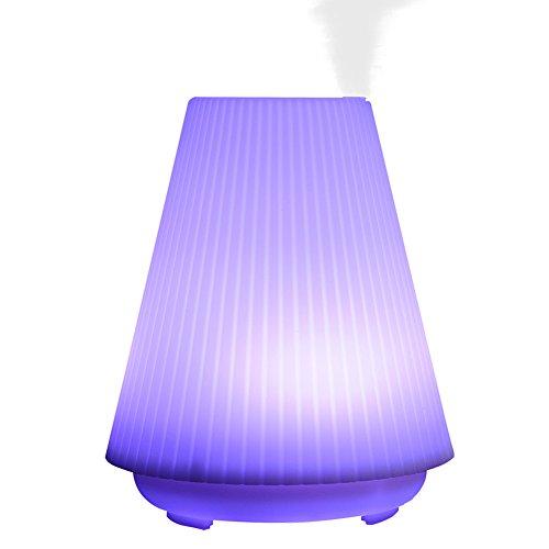 Aroma Diffuser 100ml Ultraschall Öl Luftbefeuchter Humidifier mit LED Farbwechsler