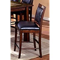 247SHOPATHOME IDF3590PC Dining-Chairs, Black