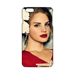 Fantastic red sexy woman 3D Phone Case for iPhone 6 plus