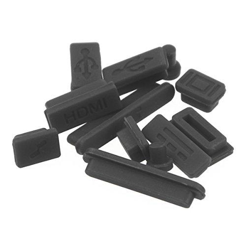Enkay Kristallshell-Tastatur-Abdeckung Schirm-Film-Antistaub-Stecker-Set fŸr Macbook Pro Retina 13,3 , Apple Zubehšr Dunkelblau