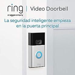 Ring Video Doorbell | Vídeo HD 1080p, detección de movimiento avanzada e instalación fácil (2. Gen) | Incluye una prueba de 30 días gratis del plan Ring Protect