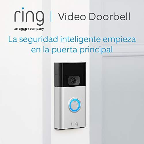Ring Video Doorbell | Vídeo HD 1080p, detección de movimiento avanzada e instalación fácil (2. Gen) | Incluye una prueba…