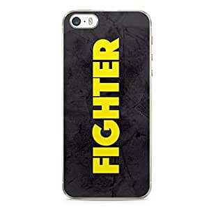 Fighter iPhone 5s Transparent Edge Case - Titles Collection