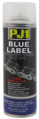 PJ1 1-08 Blue Label O Ring Chain Lube (Aerosol), 5 oz by PJ1