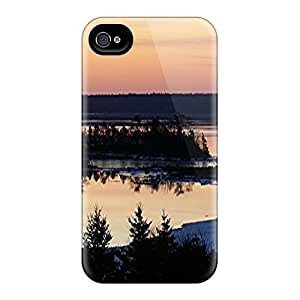 Hot CEcDiUA8423pvgca Forest Shore Tpu Case Cover Compatible With Iphone 4/4s by icecream design