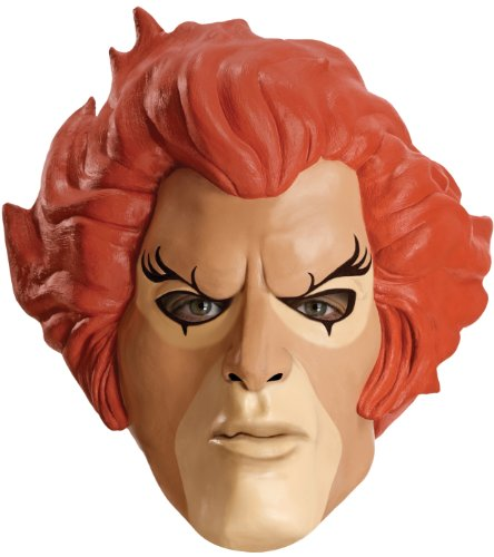 Thundercats Adult Overhead Mask, Lion, Adult ()