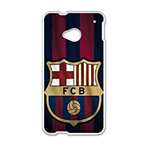 Barcelona HTC One M7 Cell Phone Case White Kcqtr