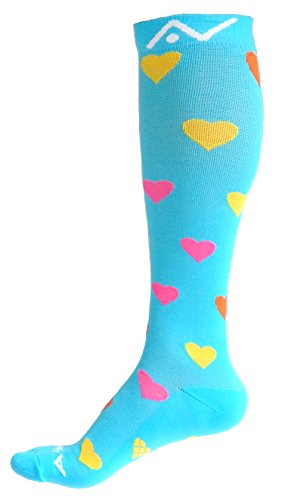 A-Swift Compression Socks for Women & Men - Baby Love, Small