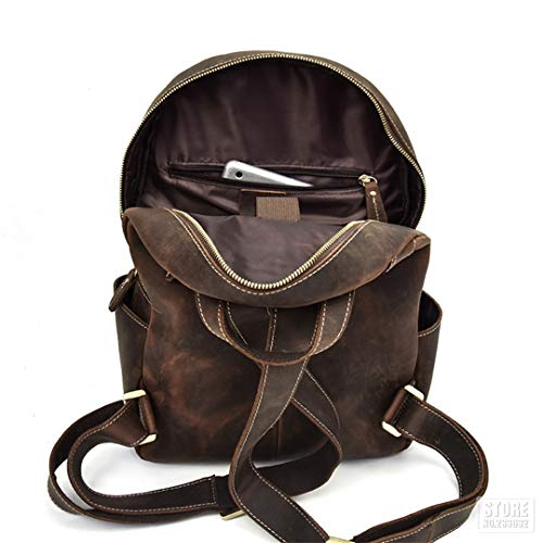 50f2a1308a24 Amazon.com: Speciclny Motorcycle Bags Full Grain Cow Leather ...